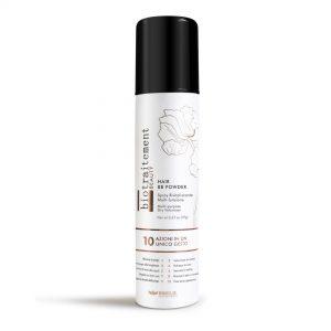 Biotraitement BB powder – pudra (sausas šampūnas) plaukų apimčiai suteikti.